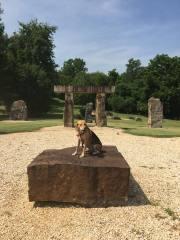 Claribel on the Altar Stone