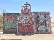 Rice Shoe Fence Graffiti