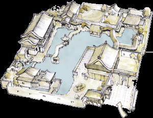 Lan Su Chinese Garden Map