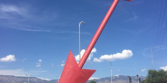 The Giant Red Arrow