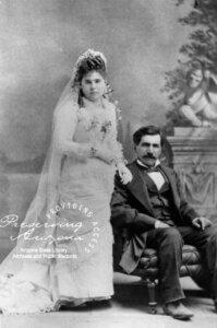 Hi Jolly & his wife Gertrudis Serna