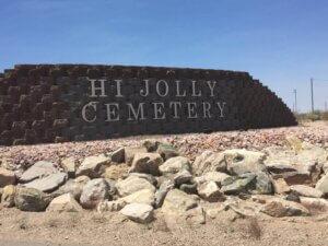 Hi Jolly Cemetery in Quartzsite, Arizona