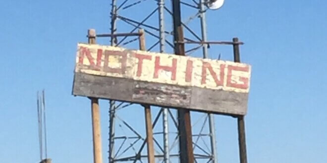 Town of Nothing, Arizona