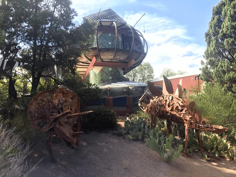 Bart Prince's Spaceship House
