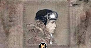Amelia Earhart Earthworkk