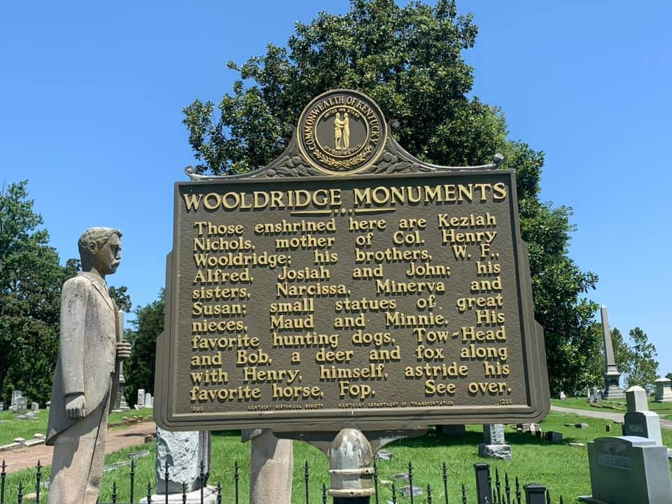 Wooldridge Monuments Info Sign Side 1