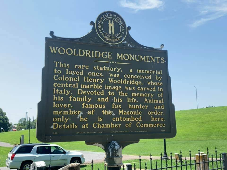 Wooldridge Monuments Info Sign Side 2