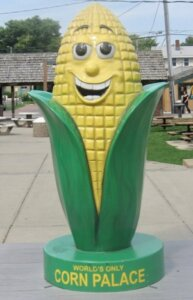 Cornelius the Corn Palace Mascot