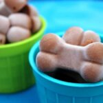 Frozen Peanut Butter Yogurt Dog Treats