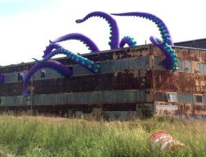 The Navy Yard Sea Monster