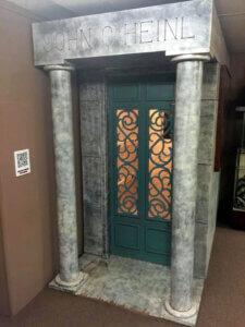 John G. Heinl Replica Mausoleum