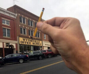 The Big Hand Strikes Again - The Big Pencil