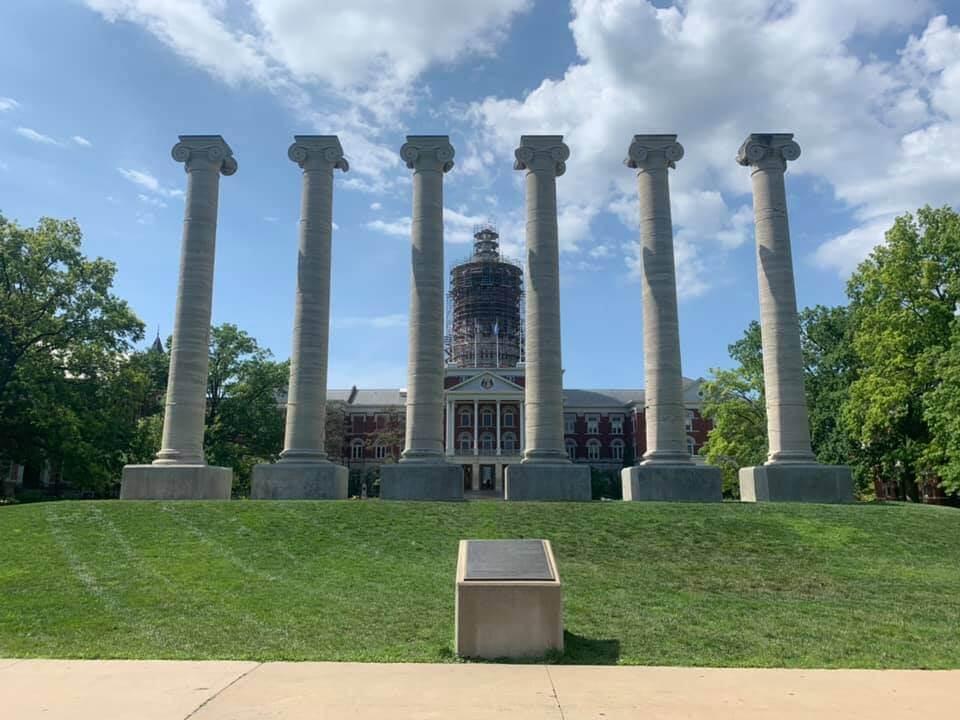 The Francis Quadrangle Columns